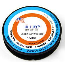 150m Fil de pêche FLUOROCARBONE ILURE 0.10 mm 1.8 kg