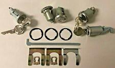 NEW 1968 Chevrolet Camaro Complete OE style Lock Set with Original GM keys