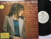 Rock Promo Lp Carly Simon Come Upstairs On Wb