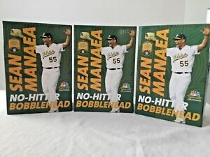MLB Oakland Athletics A's Pitcher SEAN MANAEA NO-HITTER BOBBLEHEAD SGA BRAND NEW