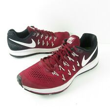 Nike Air Zoom Pegasus 33 Women's Running Shoes Burgundy Red 843803-604 Size 8