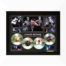 David Bowie Signed & Framed Memorabilia - 4CD - Black