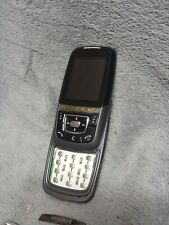 Samsung D600 Handy Gehäuse schwarz #4 C SGH-D600 phone case cover housing black