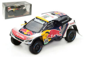 Spark S5611 Peugeot 3008 DKR Winner Dakar Rally 2017 - S Peterhansel 1/43 Scale