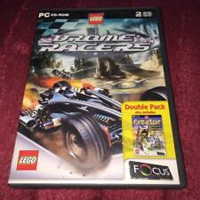 LEGO DROME RACERS LEGO CREATOR KNIGHTS KINGDOM PC CD ROM