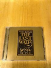 The Band Selections From The Last Waltz Boxed Set Promotional Sampler CD