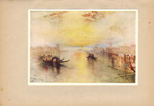 turners golden visions from 1910 print - san benedetto looking towards fusina