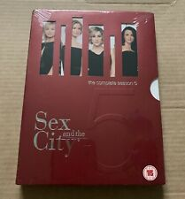 Sex And The City - Series 5 (DVD, 2003, Box Set) *NEW & SEALED*