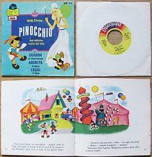 DISNEY_PINOCCHIO - GUARDA, ASCOLTA e LEGGI_Ed. Disney, 1983_Con DISCO 45 giri*