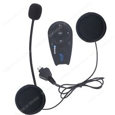 1200M 5Way Motorcycle Helmet Interphone Bluetooth Intercom headset + FM Radio