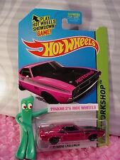 2014 Hot Wheels '71 DODGE CHALLENGER 1971 #242∞Kmart Exclusive Lavender-Magenta