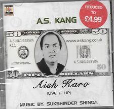 AISH KARO - A.S KANG - NEW PUNJABI SONGS CD - FREE UK POST