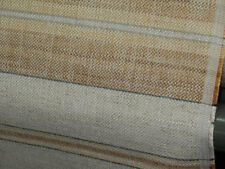LINWOOD STRIPE UPHOLSTERY FABRIC BENCH SEATING armchair Sofa /K47