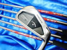Henrik Stenson Modus3 S-flex Callaway Legacy Black 6pc IRONS SET Golf Club