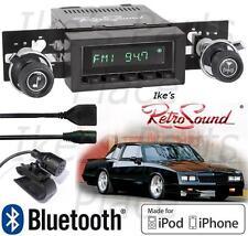 RetroSound 73-88 Monte Car Model TWO-B Radio/BlueTooth/iPod/USB/Mp3/3.5mm AUX-In