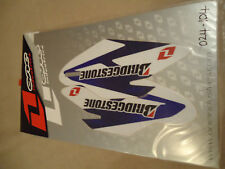 Yamaha YZF250 YZF450 2010-2016 One Industries INFERIOR HORQUILLA Graphics Set 024-104