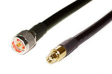 US MADE   25 ft  LMR-400 (CNT400)   50 Ohm Coaxial  Cable N male to SMA R/P
