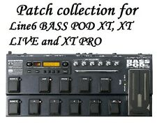 Patches - Tones for Line6 Line 6 BASS POD XT, XT LIVE, XT PRO - 4 400+ files