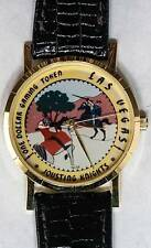 Las Vegas Hotel Excalibur Quartz Watch Series Jousting Knights New Old Stock