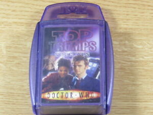 Top Trumps Doctor Who 2007 Edition VGC Complete Free UK P&P