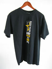 US Army Victory Is The Only Option Black T-shirt Size L
