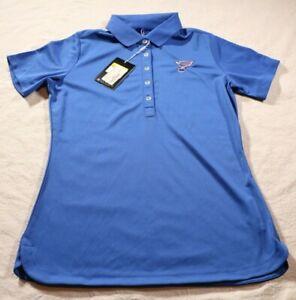 St. Louis Blues Women's Nike Golf Polo Shirt Hockey NHL NWT NEW