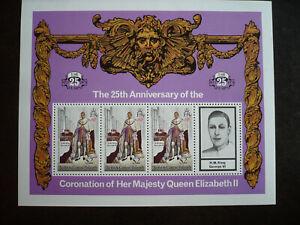 Stamps - Turks & Caicos Islands - Scott# 345 Souvenir Sheet
