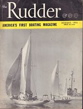 The Rudder August 1955 Linewood52 Fairform Flyer 032217nonDBE