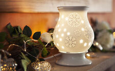 Wax Burner - Snowflake Electric tart burner (warmer) with light & dimmer