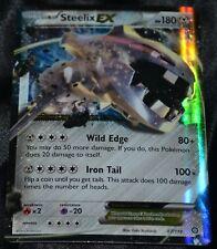 Holo Foil Steelix EX # 67/114 XY Steam Siege Set Pokemon Trading Cards PL