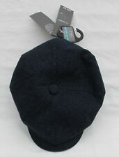 MEN'S MARKS AND SPENCER NAVY CHECK COOL COMFORT CAP SIZE M