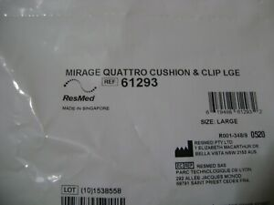 ResMed Mirage Quattro Cushion & Clip Large 61293
