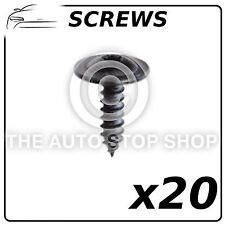 Special Screws 4,8 x 16 MM ZN Noir Peugeot 1007/206/301 etc Part No.11221 20Pack