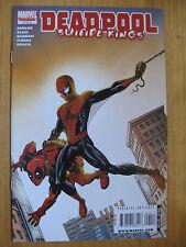 DEADPOOL SUICIDE KINGS #4. AMAZING FANTASY 15 COVER SWIPE, SPIDERMAN.