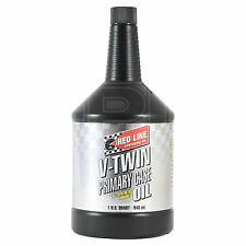 Red Line V-Twin Primary Synthetic Case Oil with Shockproof