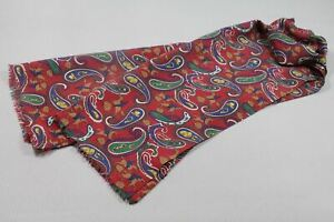 """Men's silk scarf 53""""x13"""" made in Italy"""