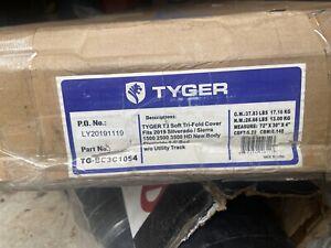 Tyger T3 Tri-Fold Truck Bed Tonneau Cover fits 2019-20 Silverado/Sierra 6.5' Bed