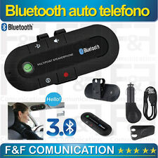 CAR KIT VIVAVOCE UNIVERSALE BLUETOOTH DA AUTO PER SMARTPHONE E TABLET NEW MODEL