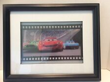RARE!! HTF!! Disney Pixar Cars Movie Filmstrip Framed Wall Art Decor