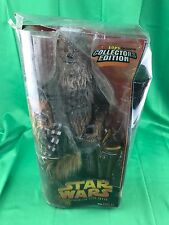 "STAR WARS REVENGE OF THE SITH, CHEWBACCA 14"" COLLECTOR EDITION (READ DESCRIPTION"