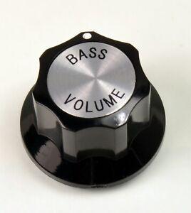 Rickenbacker® type bass volume knob METRIC size only