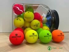 Wilson DX2 Optix Golfbälle 30-Ball Glas / Jar - NEU