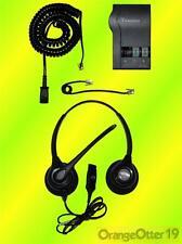 Plantronics HW261N SupraPlus Wideband Headset w M22 VISTA Amplifier & all Cords