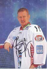 Steve Junker  EV Landshut 1998/99  Eishockey Autogrammkarte signiert 357879