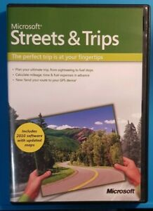 Microsoft Streets and Trips 2009 Version for Windows Complete with Product Key