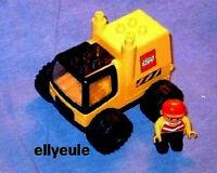 Lego Duplo Radlader LKW  Baustelle Fahrzeug  2807  Bulldozer Bagger Truck Figur
