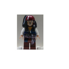 NEW LEGO  Captain Jack Sparrow FROM SET 4192 PIRATES OF THE CARIBBEAN (poc001)