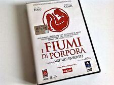 I FIUMI DI PORPORA Jean Reno Vincent Cassel DVD
