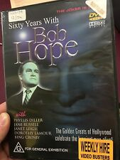 Sixty Years With Bob Hope ex-rental region 4 DVD