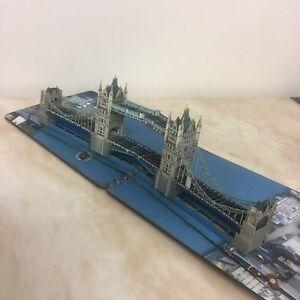 Tayta Tower Bridge Pop Up BIG Version , London (birthday, Travel) Handmade